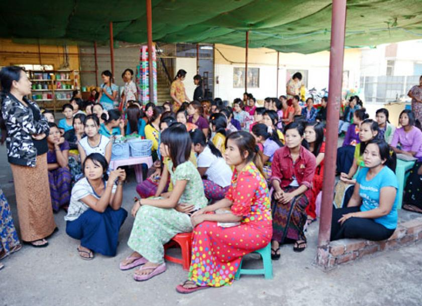 200 workers strike over unpaid wages | The Myanmar Times