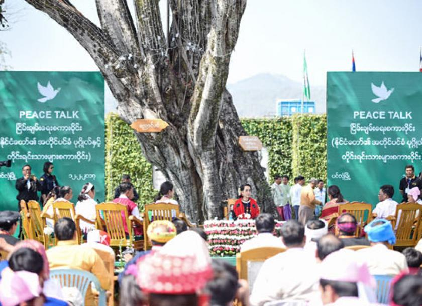 State Counsellor Urges Non Signatories To Sign Ceasefire Agreement