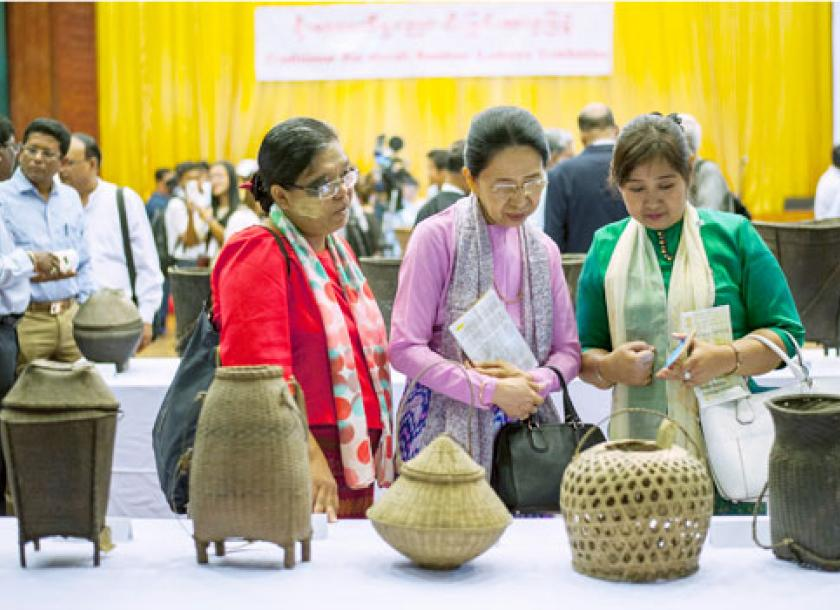 Bamboo Handicrafts Preserved In New Exhibit The Myanmar Times