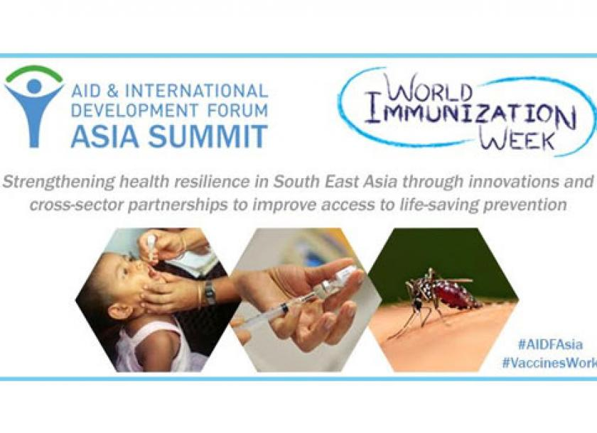 Role of immunisation in sustainable development and health