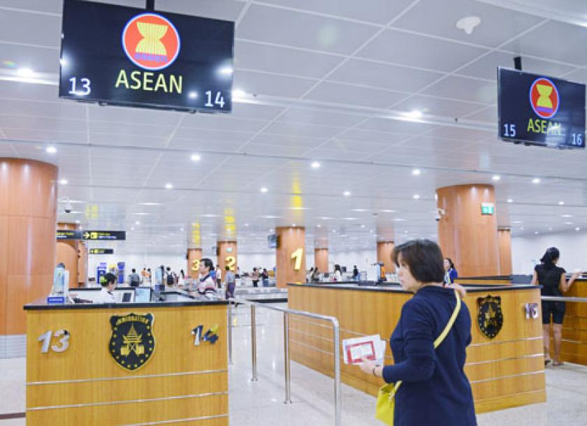 Special Lanes For Asean At Yangon Airport The Myanmar Times