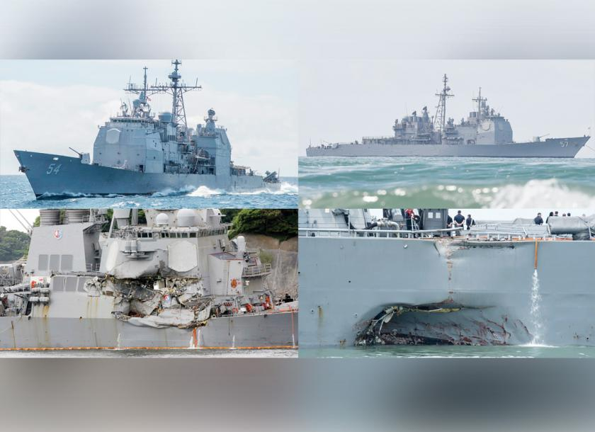Divers locate human remains in warship: United States admiral