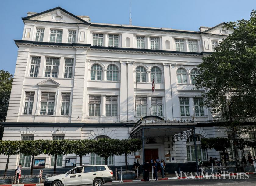 British Embassy Building gets the 28th Blue Plaque   The