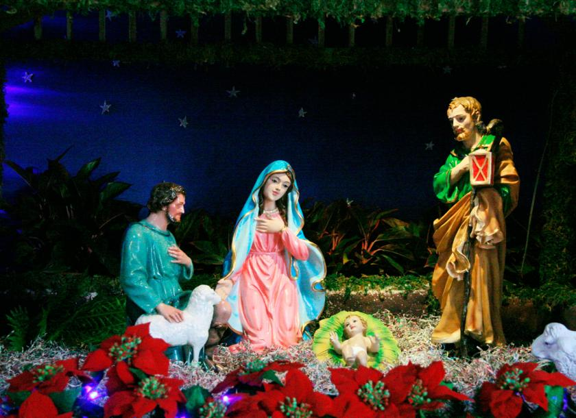 With joy-filled hearts, let's continue the Christmas celebration all season long