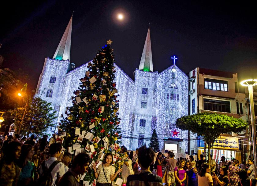 Sharing Christmas gifts with love and kindness | The Myanmar Times