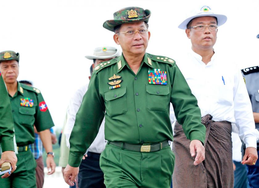 Commander-in-Chief arrives in China on goodwill visit | The Myanmar Times
