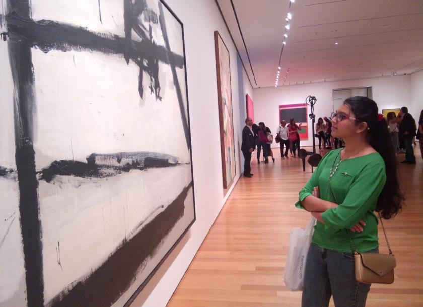 Hundreds of people took advantage of the free admission to MoMA on Friday evenings. Photos: Tin Yadanar Tun