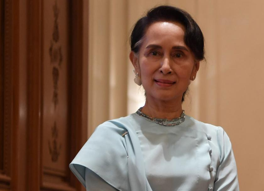 Win Myint sworn-in as new President of Myanmar