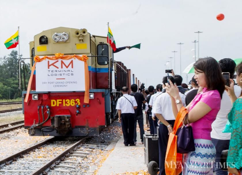 Myanmar's first dry port opens for business | The Myanmar Times