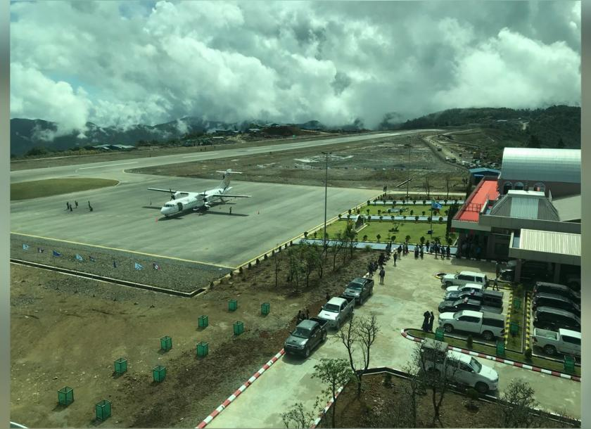 Chin State's first airport commences test run | The Myanmar Times
