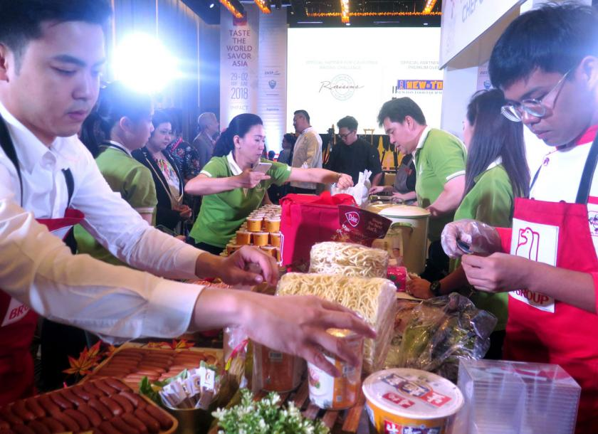 Food trade show positions Thailand as the world's kitchen