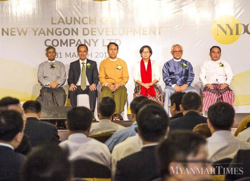 The Yangon government launches the New Yangon Development Company (NYDC) in 2018. Nyan Zay Htet/The Myanmar Times
