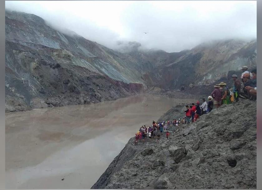 More than 120 dead in mining accident in Myanmar