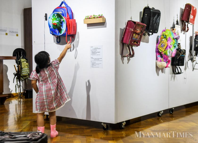 Colourful backpacks arrive in Yangon | The Myanmar Times