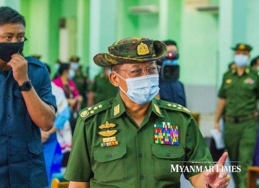 Myanmar military chief says takeover inevitable | The Myanmar Times