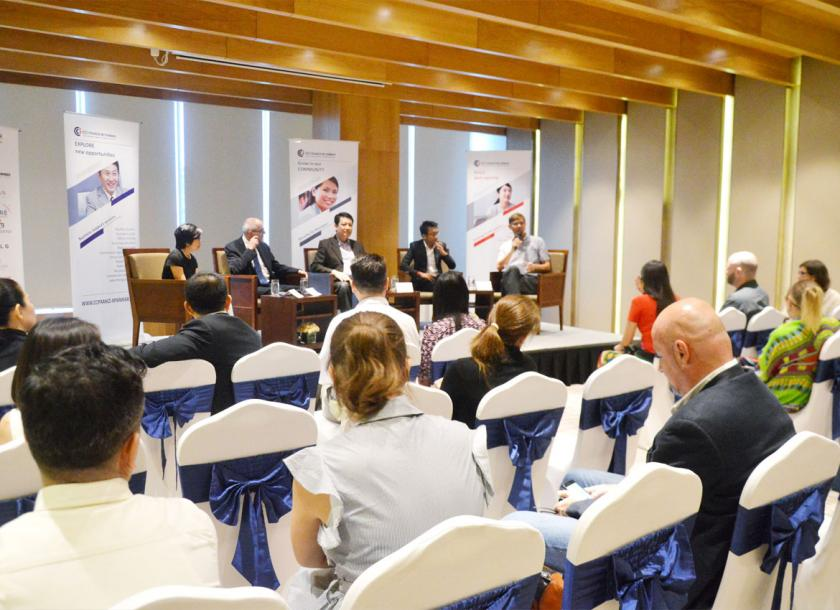 A panel discussion on intercultural communication in Myanmar | The