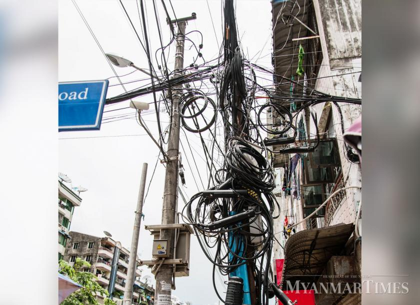Short term measures are being taken to supply enough power during summer 2020. Shin Moe Myint/The Myanmar Times