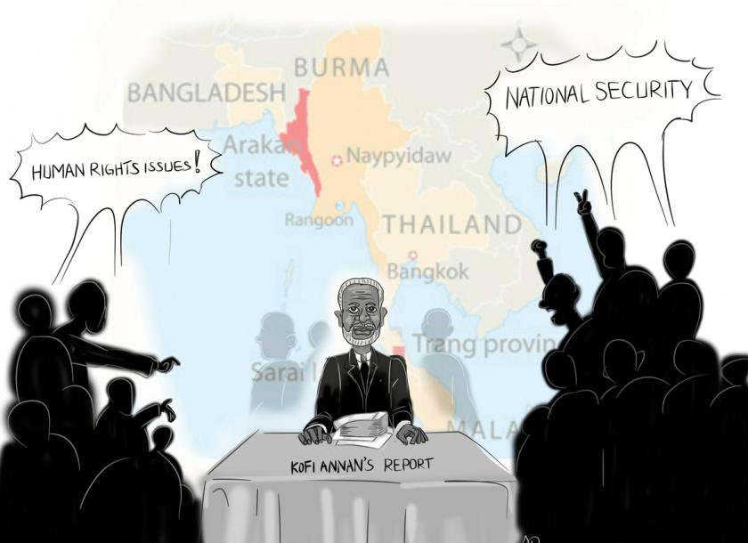 More 'clearance' of Rohingya as Annan demands change