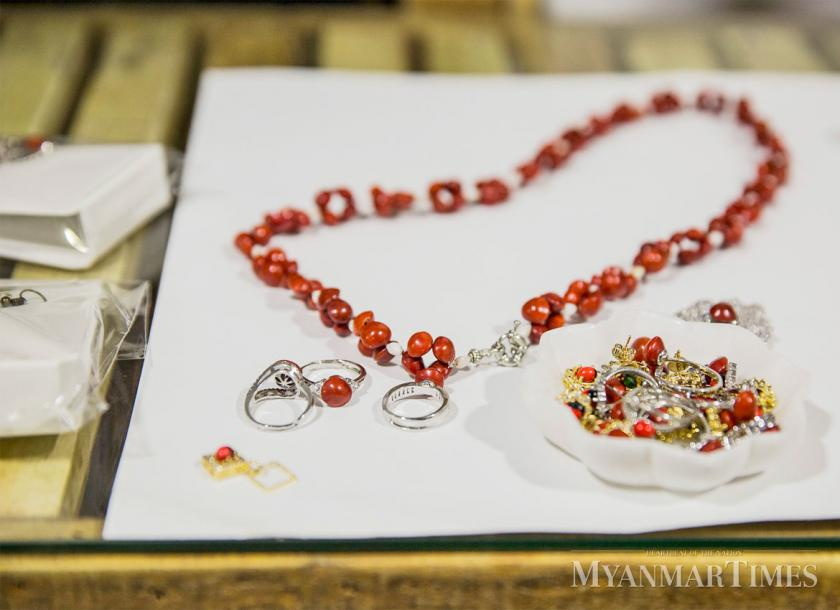 Seeing gold in Red Sandalwood seeds jewelry | The Myanmar Times