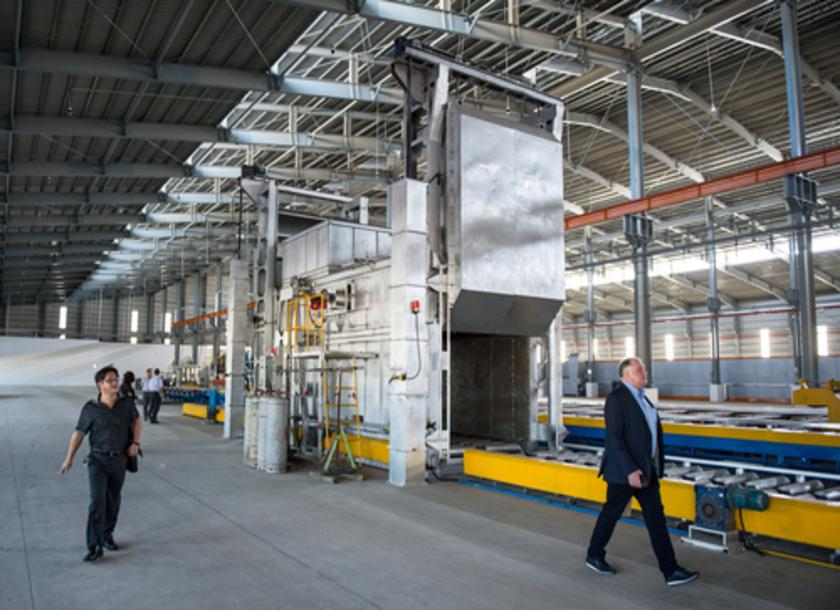 Taiwan's aluminium maker launches $13m Thilawa plant | The