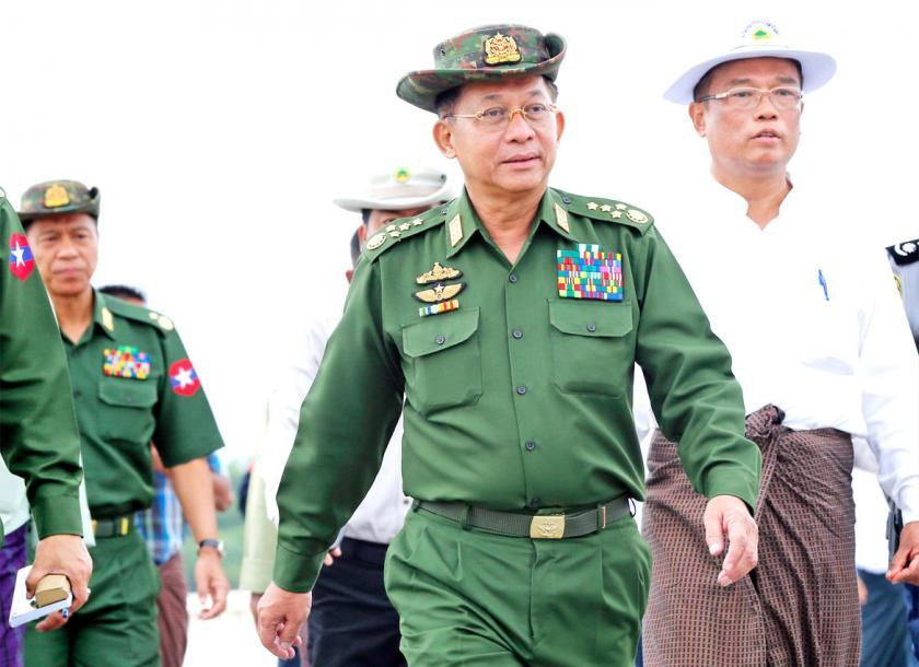 Image result for Min Aung Hliang