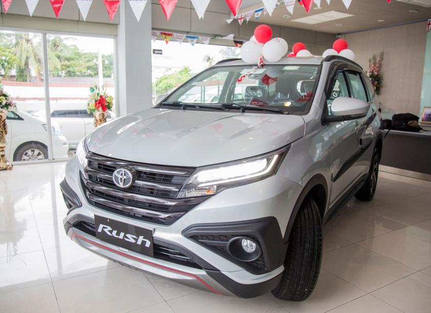 The new Toyota Rush | The Myanmar Times