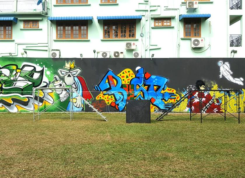 No 2 Art Area S First In Street Art The Myanmar Times