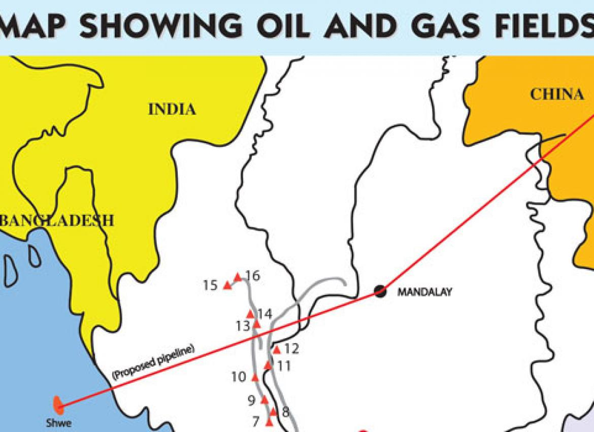 Offshore gas fields | The Myanmar Times