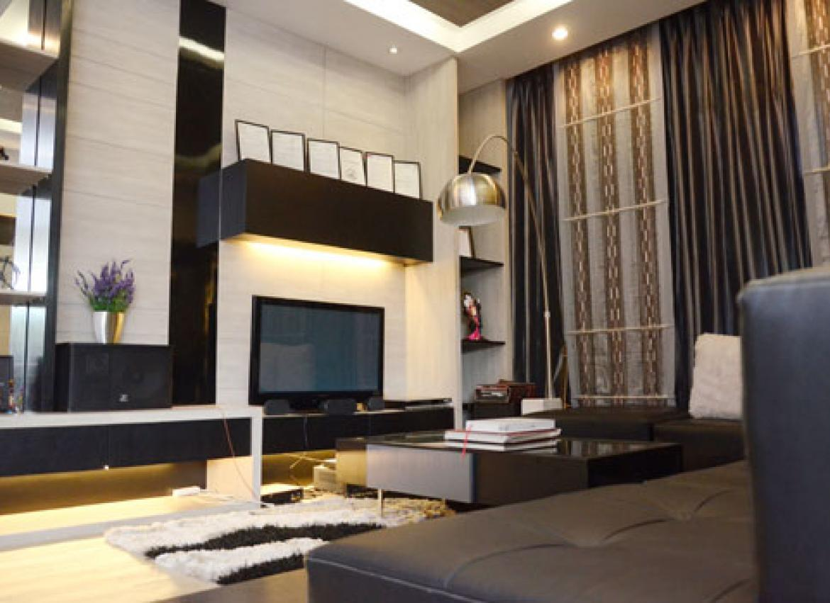Interior Design Hits New Height In Yangon: A Living Space And Bathroom At  Live Life