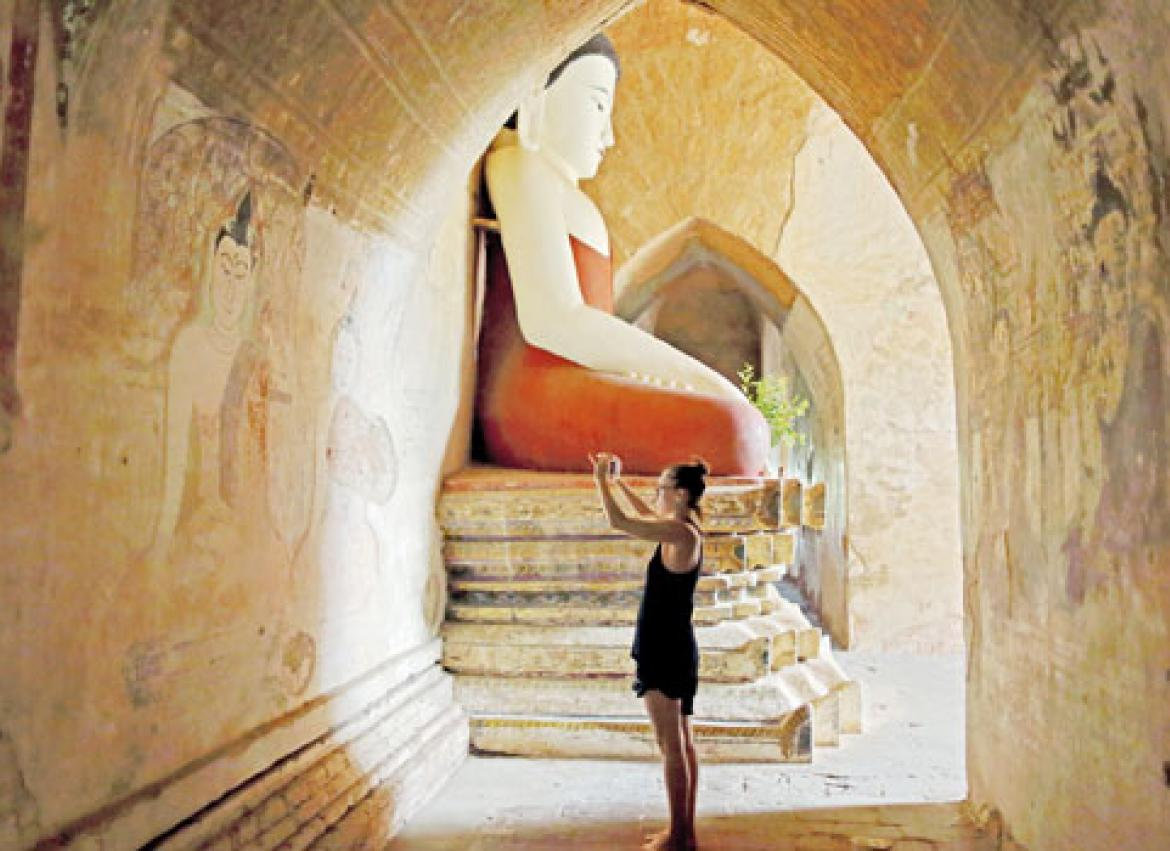 Entrance fees bypass Bagan temples   The Myanmar Times