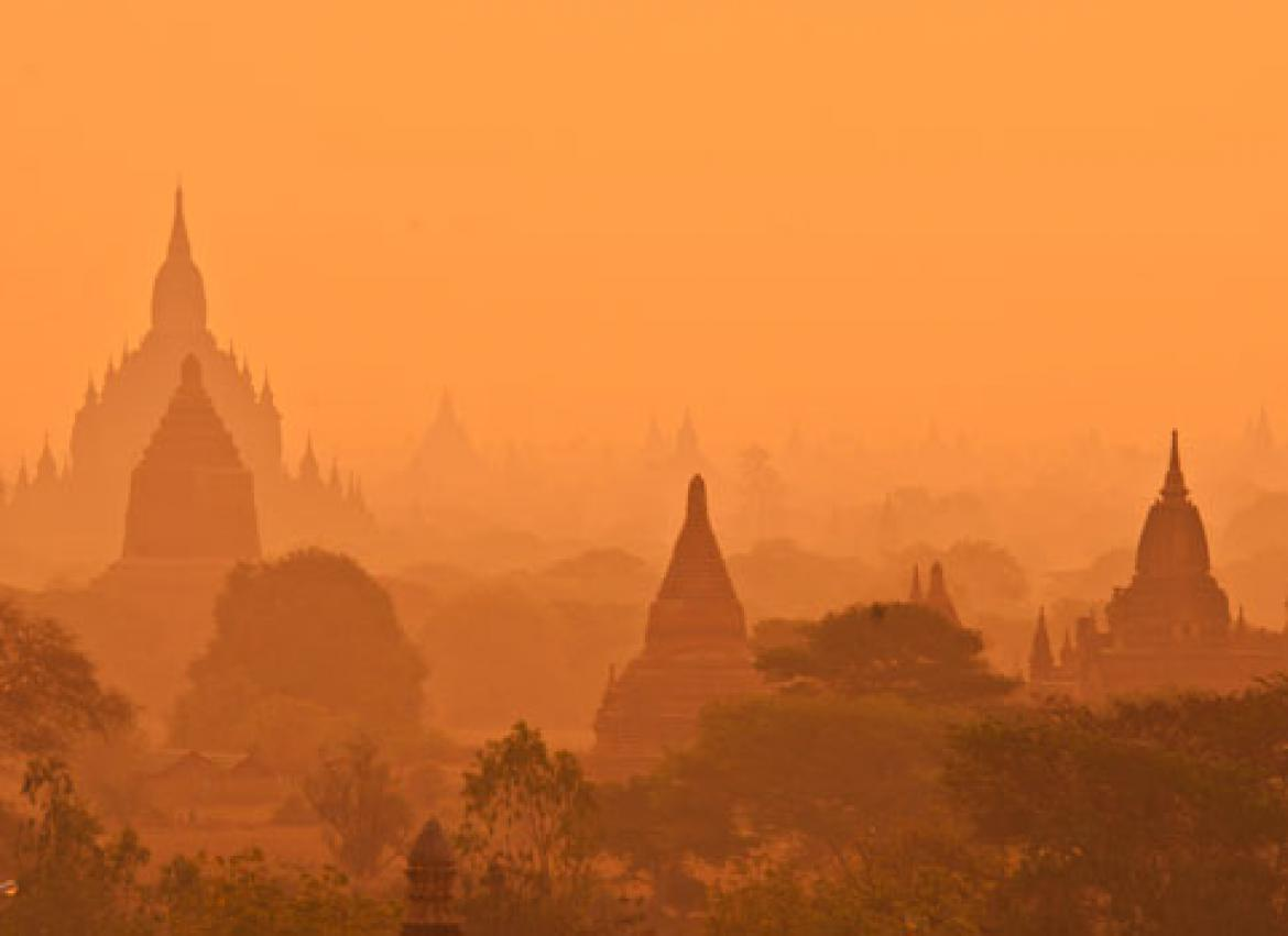 Old Bagan's unusual vibe: temples of rock? | The Myanmar Times
