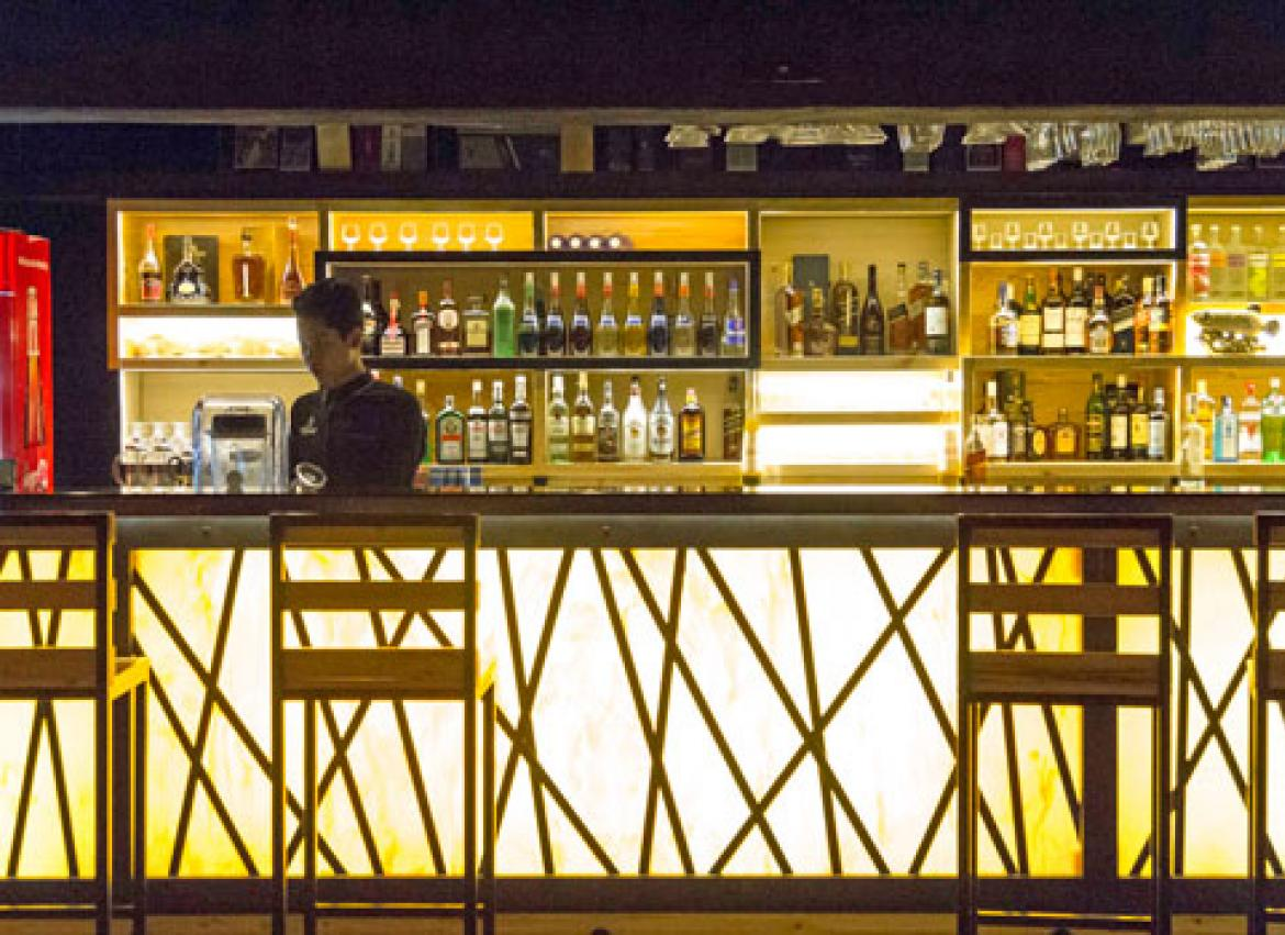 The Basement Bar, A New Joint On The Corner Of 13th Street, Features  Industrial