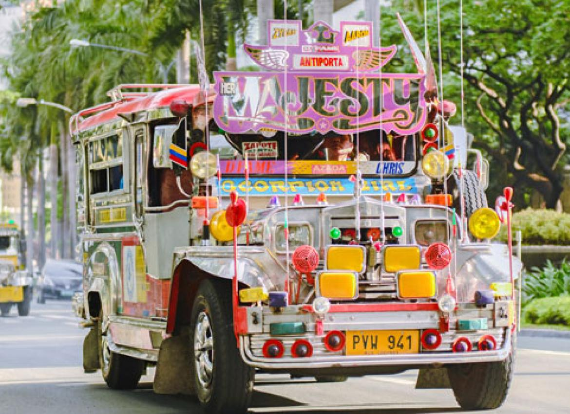 Can Electric Jeepneys Ease Manila S Traffic Crisis The