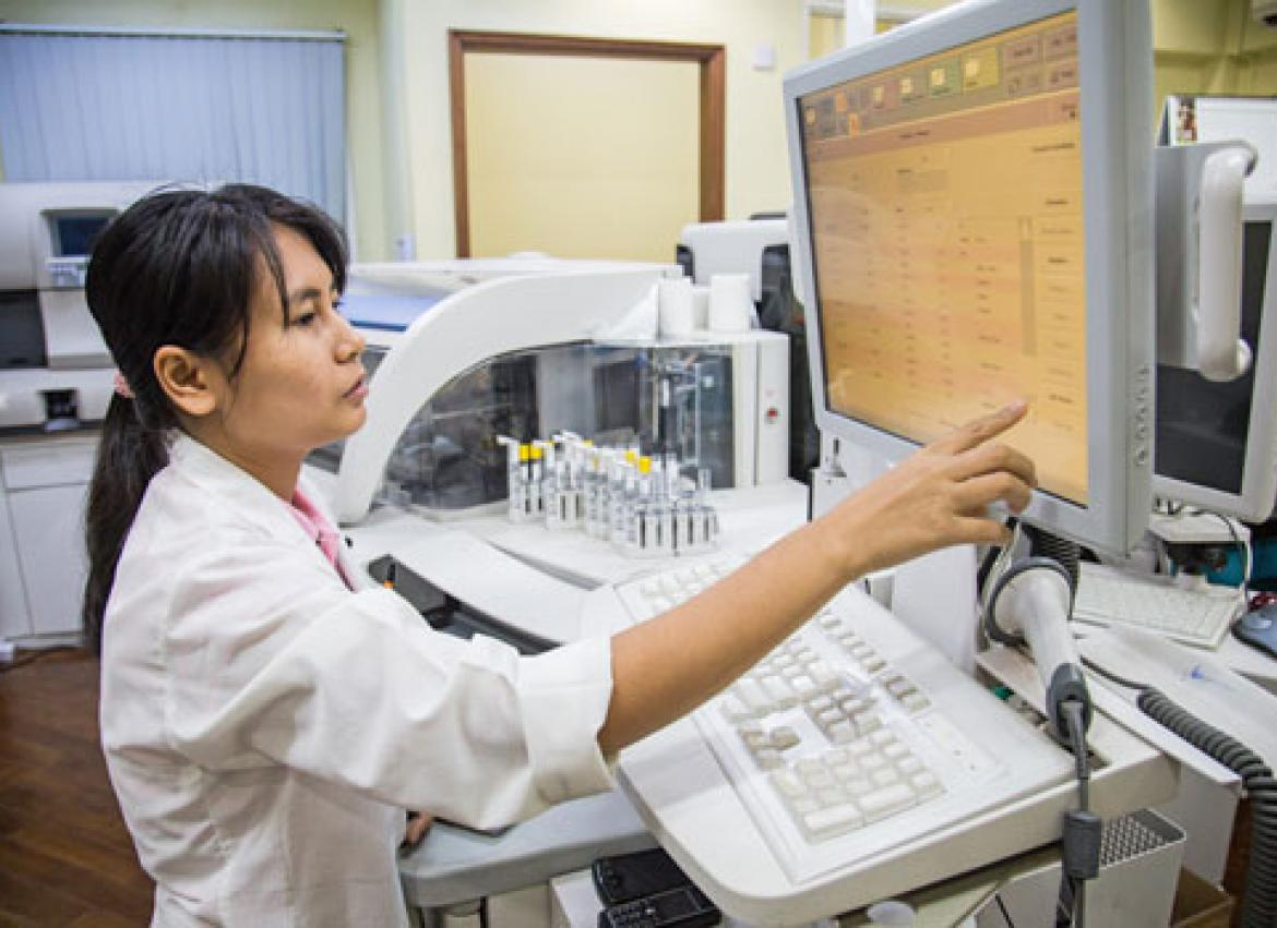 Quicker health tests here and now | The Myanmar Times
