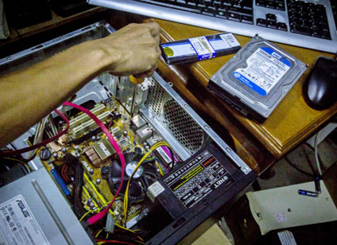 What It Takes To Be A Computer Hardware Expert The Myanmar Times Electrical Wiring Training Books Experts Are Especially Responsible For Networking And Troubleshooting Issues That Crop Up Naing Wynn