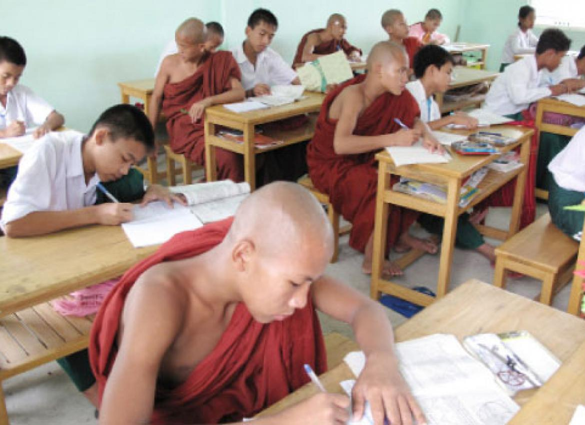 High Marks For Monastic School The Myanmar Times